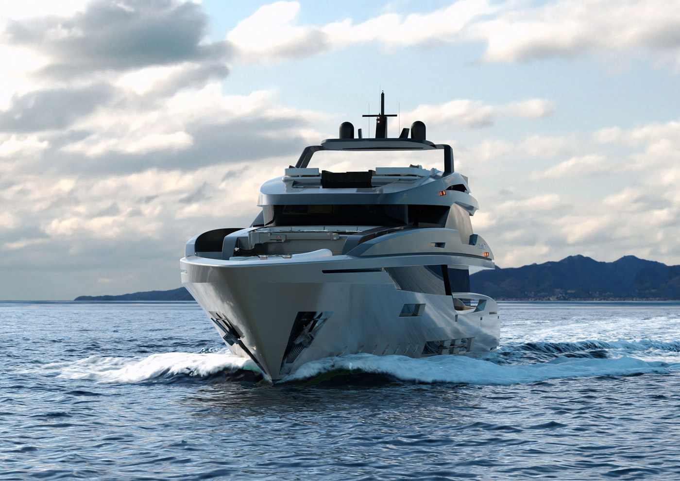 Global Collection 42m Series Mondomarine M43 Global Superyacht Club